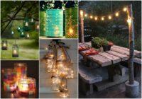 Izdekorējam savu dārzu romantiskiem vasaras vakariem. Maģiski!