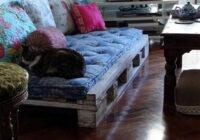 Perfektas paštaisītās mēbeles no koka paletēm