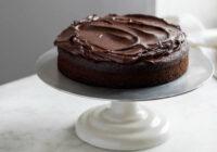 Šokolādes kūka, kas gatavota bez olām