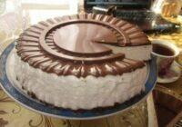 Atceries bērnības garšu – putna piena torte!