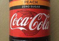 Coca-Cola samazina cukura daudzumu un piedāvā jaunu persiku garšu