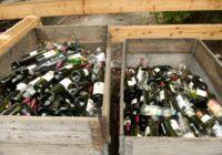 Dobes var norobežot un izdaiļot ar stikla pudelēm