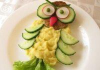 Ja bērns atsakās ēst normālu ēdienu, talkā nāks šīs ēdiena dekorācijas