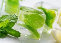 Mohijto ledus gabaliņi atspirdzinošiem kokteiļiem
