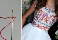 Tām, kurām patīk šūt un izšūt – dariniet kleitiņas ar brīnumaini skaistiem izšuvumiem