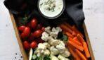 Veselīgas uzkodas, gaidot grila ēdienus
