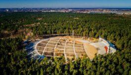 Pie Mežaparka estrādes pārbūvē ūdensvadu un kanalizāciju