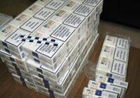 Robežsargi izņem 80 tūkstošus kontrabandas cigarešu