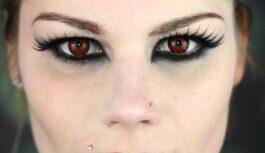 Padari savu tēlu neaizmirstamu: Helovīns & krāsainās kontaktlēcas