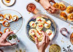 Svētku uzkodu plate ar Pringles čipsiem – dažādas idejas interesantām uzkodām