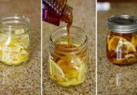 Citrons, medus un ingvers burciņā – labākais līdzeklis cīņā pret saaukstēšanos!